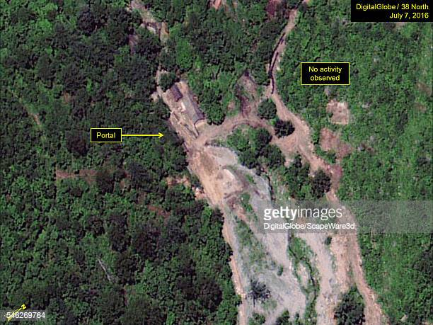 Figure 3 DigitalGlobe satellite imagery showing no activity at South Portal