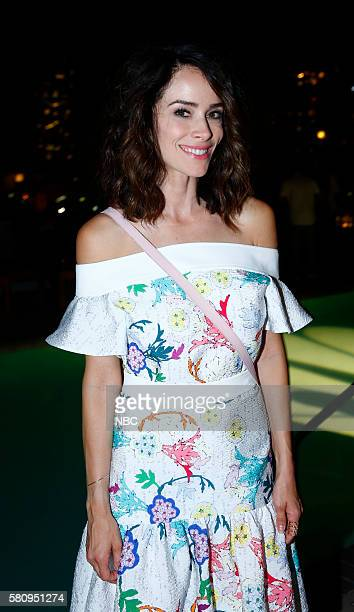 DIEGO 2016 7th Annual NBC @ ComicCon Party Pictured Abigail Spencer Timeless at the Andaz San Diego Calif Saturday July 23 2016