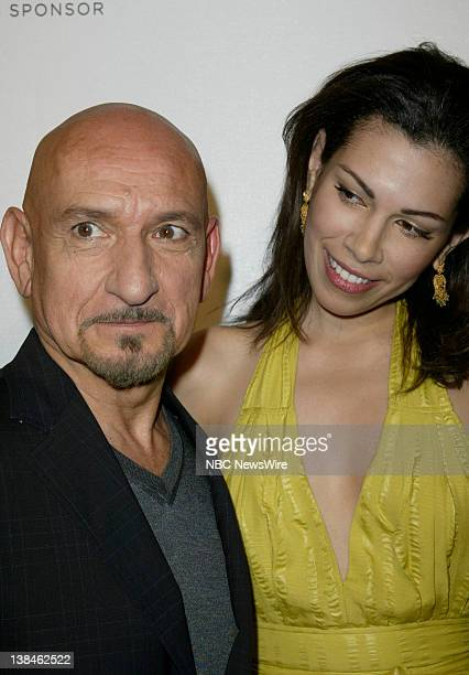 NBC NEWS 7th Annual Tribeca Film Festival Pictured Actor Sir Ben Kingsley and actress Daniela Lavender attend the premiere of Tennesse during the 7th...