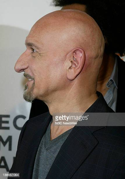 NBC NEWS 7th Annual Tribeca Film Festival Pictured Actor Sir Ben Kingsley attends the premiere of Tennesse during the 7th Annual Tribeca Film...