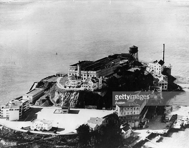 12 acre Alcatraz an island prison off the coast of San Francisco Now unused while the US government decides its future
