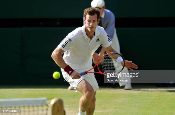 WIMBLEDON 2010 7th day 28/6/2010 ANDY MURRAY DURING HIS MATCH WITH SAM QUERREY
