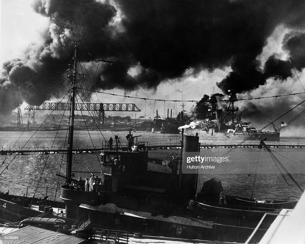 Pearl Harbour Attack : News Photo