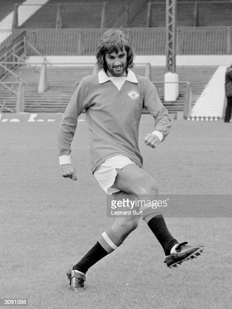 George Best of Manchester United and Northern Ireland