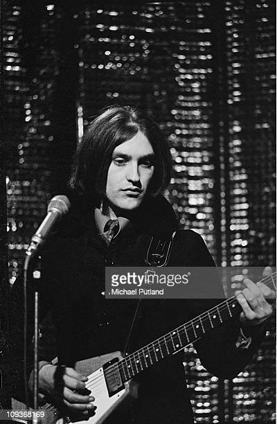 Dave Davies of the Kinks promoting his solo song Death of a Clown Top of the Pops on 7th December 1967