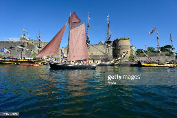 7th edition of the Brest International Maritime Festival a festival hosting one of the largest gatherings of sailing ships in the world in Brest from...