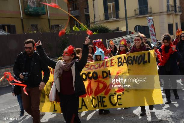 7th Edition of the Social Carnival in the neighborhood of Bagnoli in Naples