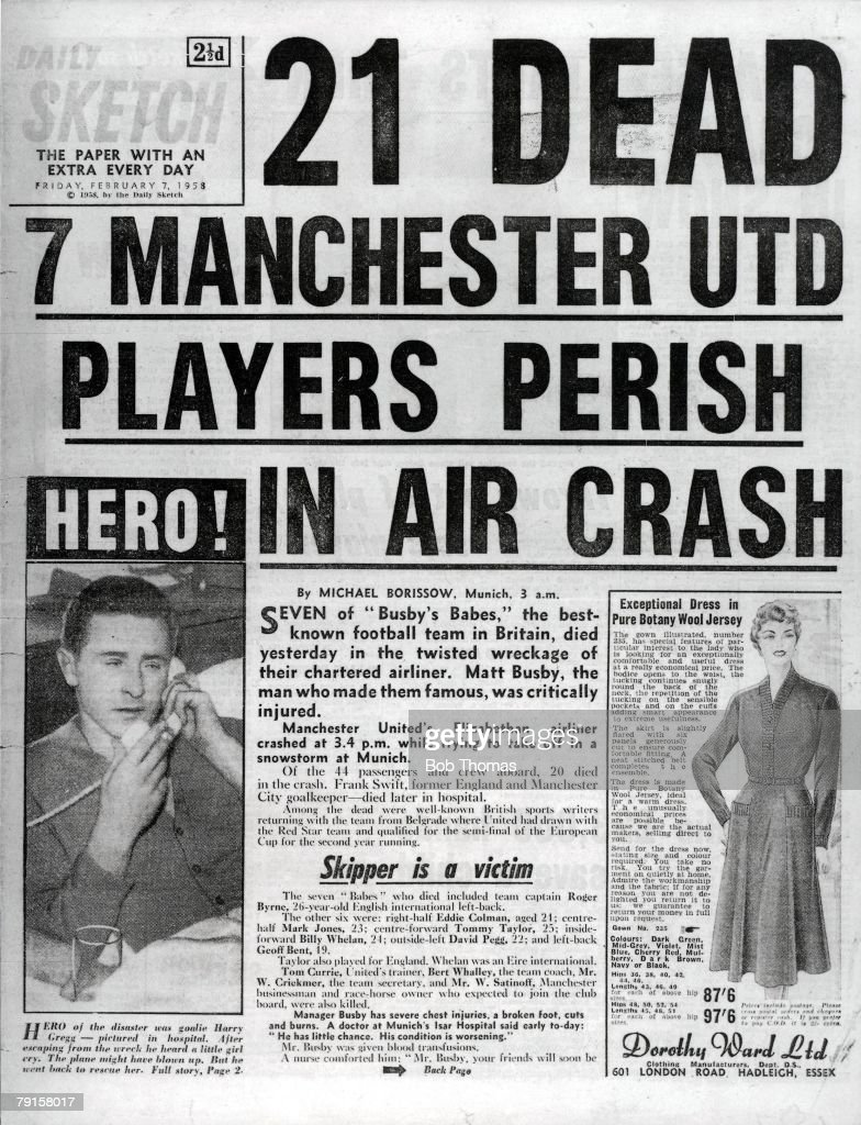 Munich Air Disaster : News Photo