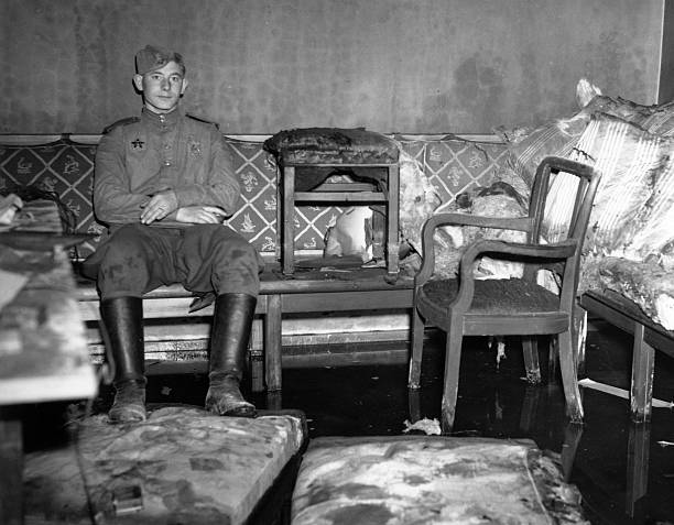 the last days of hitler photos and images getty images. Black Bedroom Furniture Sets. Home Design Ideas