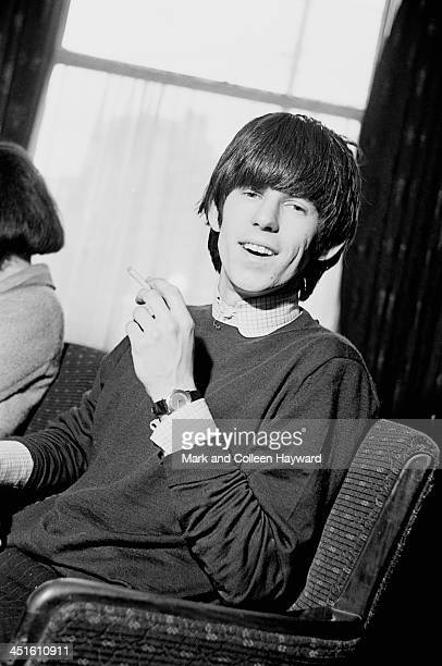 Keith Richards from The Rolling Stones posed at the Midland Hotel in Manchester England on 7th March 1965