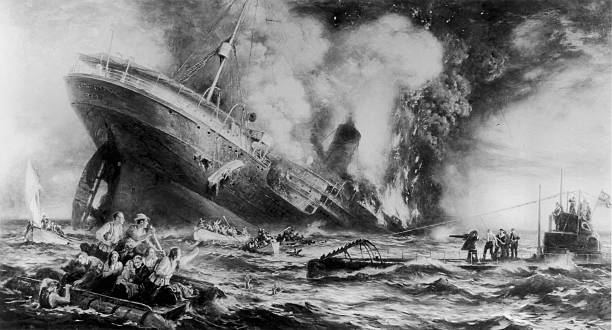 Lusitania Sunk Wall Art