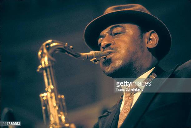 AMSTERDAM NETHERLANDS 7th MAY Saxophonist Archie Shepp playing at the BIMhuis in Amsterdam Netherlands on 7th May 1987