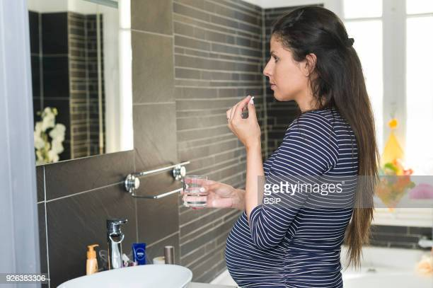 7th month of pregnancy Maureen suffers from acid reflux and regularly takes Omeprazole