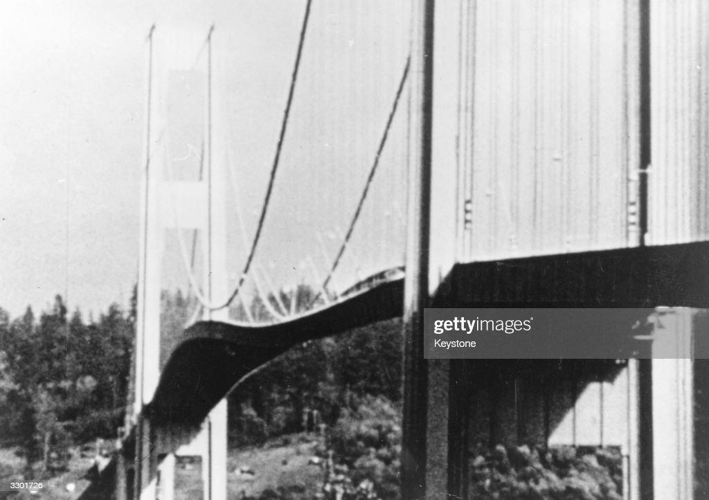 Tacoma Bridge : News Photo