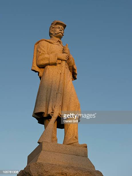 7th west virginia statue - protohistory_of_west_virginia stock pictures, royalty-free photos & images