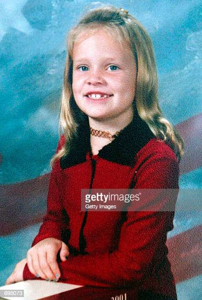 7yearold Danielle Van Dam is shown in this undated school photo Van Dam disappeared February 1 2002 from her home in Sabre Springs CA after her...