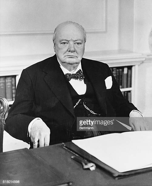 80th birthday portrait. London, England: British prime minister Sir Winston Churchill will be 80 years old on Tuesday, November 30. This official...