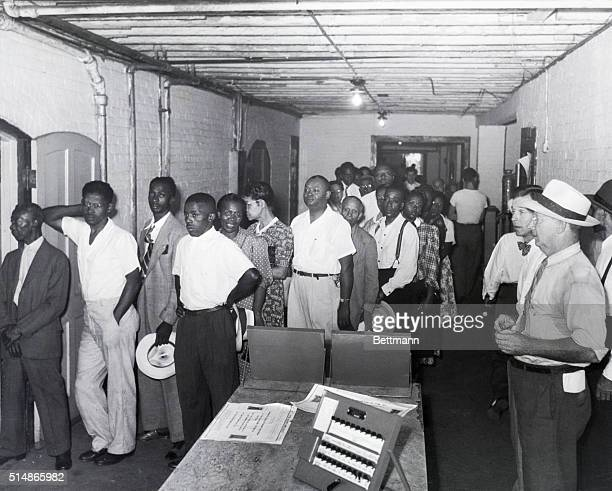 8/11/1948Charleston SC Negro voters for the first time since reconstruction days went to the polls in South Carolina on August 11 after Supreme Court...