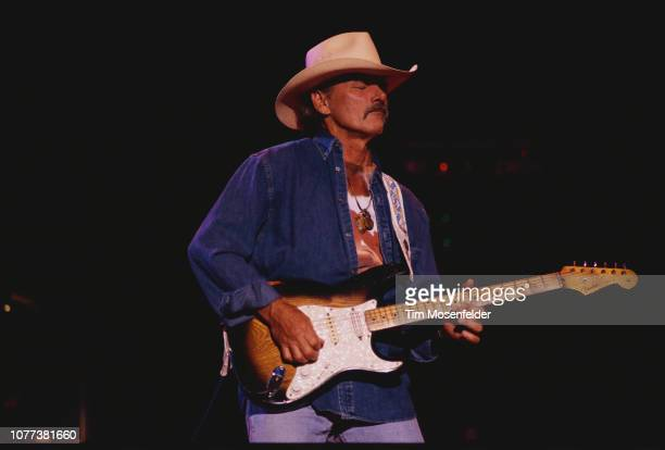 Singer/guitarist Dicky Betts of the Allman Brothers performs in concert at the Shoreline Amphitheatre