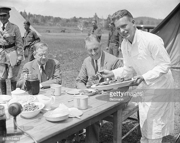 Shenandoah Valley, VA- President Roosevelt motored through the historic Shenandoah Valley to inspect some Civilian Conservation Corps camps on his...