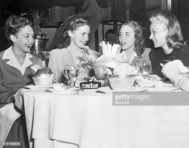 8/13/1941New York New York Joan Leslie who you will recall is in town to invite Mayor LaGuardia to Los Angeles for their founders day celebration is...