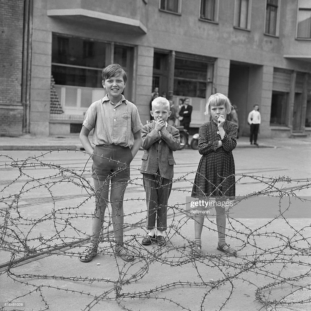 Children by Barbed Wire Pictures | Getty Images