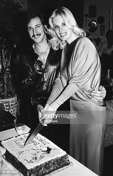 Playboy Magazine's 1980 Playmate of the Year Dorothy Stratten is shown in file photo with her husband Paul Sneider as they celebrated her 20th...