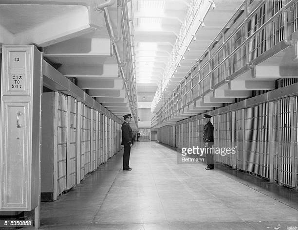 8/19/1934San Francisco Bay CA US Attorney General Homer S Cummings made an official inspection of Alcatraz Island site of the new Federal prison for...