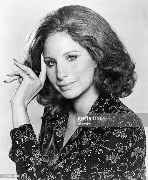8/1973Singer Barbara Streisand is shown in a closeup portrait August 1973 Photograph filed 9/29/73