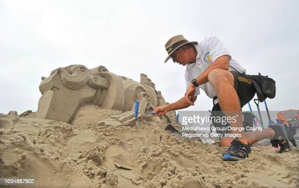 81st Annual Great Sand Sculpture Contest took place at Granada Beach boat ramp Saturday as pros and amateurs build sand sculptures around the theme...