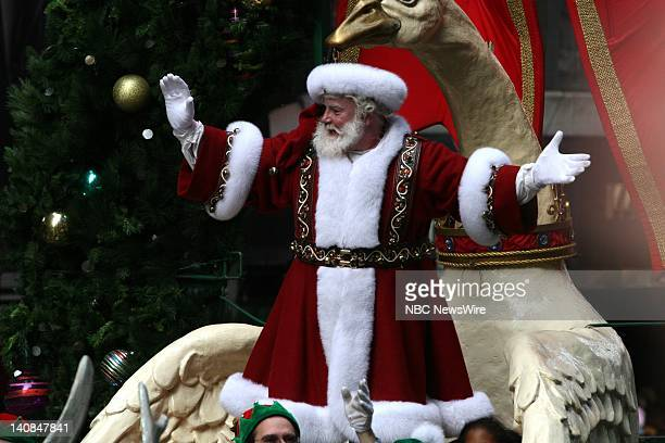 81st ANNUAL MACY'S THANKSGIVING DAY PARADE Pictured Santa Claus at the 81st Annual Macy's Thanksgiving Day Parade broadcast live on NBC on Thursday...