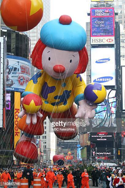 81st ANNUAL MACY'S THANKSGIVING DAY PARADE Pictured The JoJo circus balloon at the 81st Annual Macy's Thanksgiving Day Parade broadcast live on NBC...