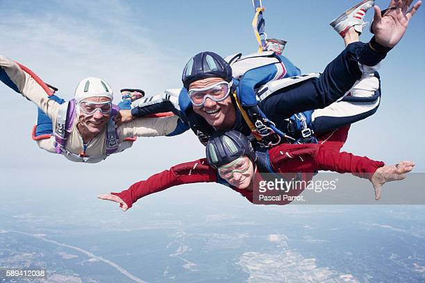 81YearOld Skydives for First Time