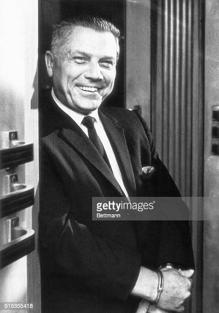 8/21/1969Chatanooga TN Teamster President James Hoffa appears in good spirits as he leaves the Federal Building following the third day of his hearing