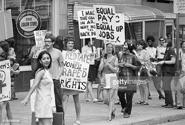 8/26/1970Detroit Michigan Women's Liberation Coalition March