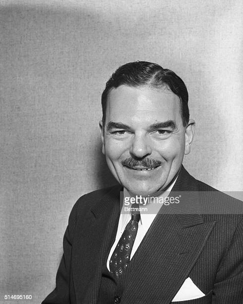 This is a recent photo of Thomas E Dewey of New York who is likely to again be nominated as the Republican Candidate for Governor of New York State...