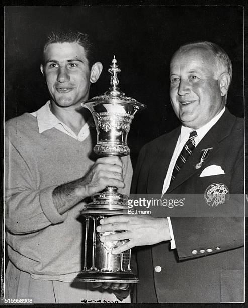 8/28/1950Minneapolis MN Twentyfouryearold Sam Urzetta of Rochester New York athlete and excaddie who became the new amateur golf champion of the...