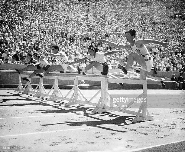 Los Angeles, CA- Breaking world and Olympic records seems to be a pastime for Babe Didrikson of the U.S., who smashed another criterion when she...