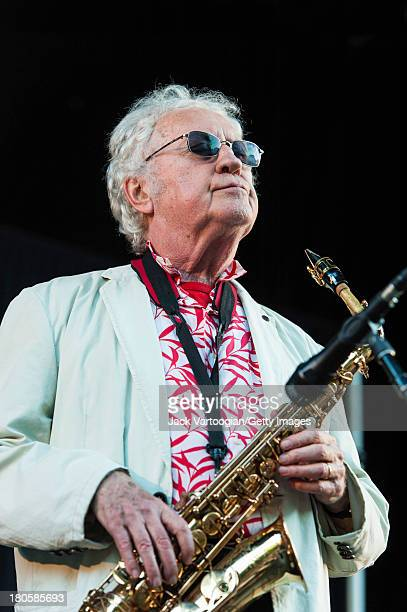 85yearold American Jazz musician Lee Konitz leads his Quartet from the alto saxophone to headline the final day of the 21st Annual Charlie Parker...