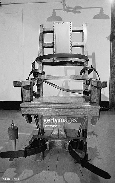8/6/1982Richmond VA The electic chair at the Virginia State Penitentiary may be used for the first time in 20 yeras 8/10 for the scheduled execution...