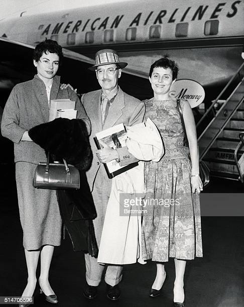 8/7/1957Comedian Groucho Marx came to town today from Los Angeles accompanied by his wife Eden and was met at International Airport by his daughter...
