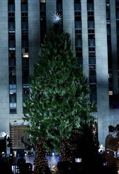 NY: 88th Annual Rockefeller Center Christmas Tree Lighting Ceremony