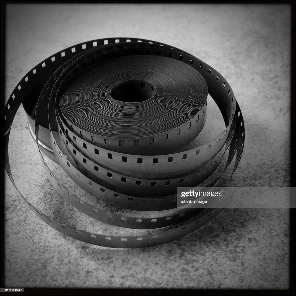 8mm old film : Stock Photo