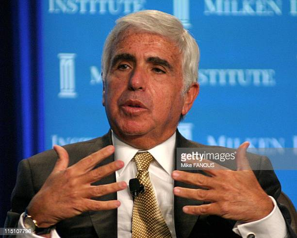 8th Annual Milken Global Conference in Beverly Hills United States on April 20 2005 Mel Karmazin CEO SIRIUS Satellite Radio at the 'Creators or...