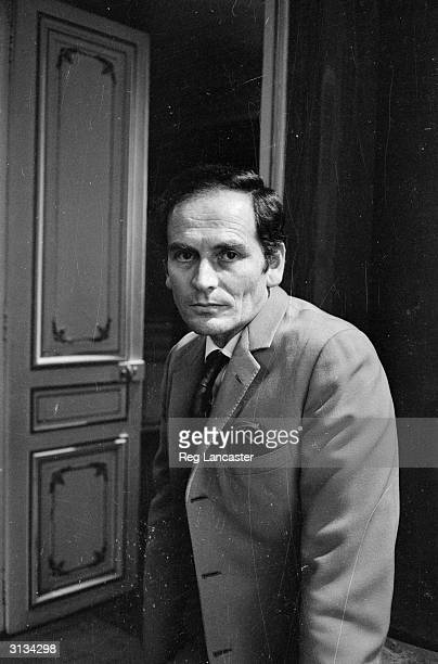 French fashion designer Pierre Cardin who opened his own fashion house in 1953