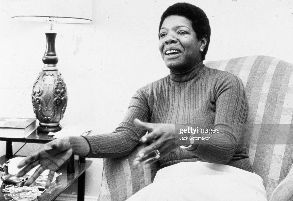 Maya Angelou : Fotografía de noticias