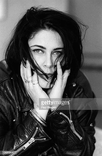 English singer Alison Moyet posed in Amsterdam Netherlands on 8th April 1991