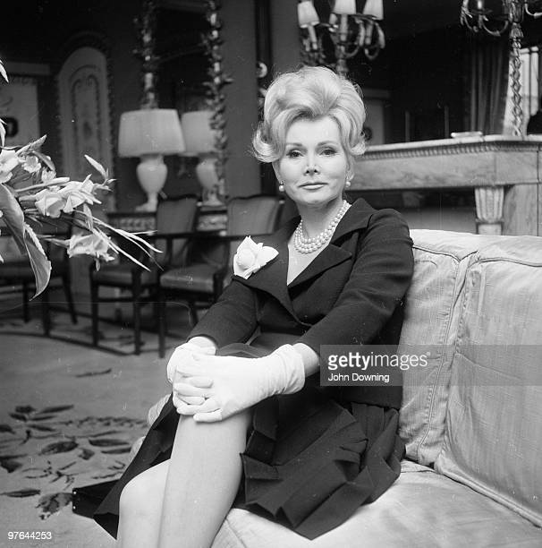 Hungarian actress and celebrity Zsa Zsa Gabor
