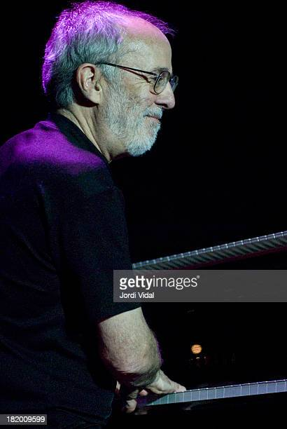 Bob James of jazz quartet Fourplay performs on stage at Bikini in Barcelona Spain on July 8th 2006
