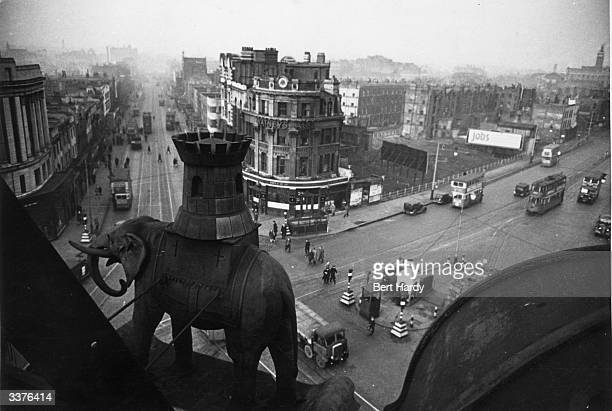 The Elephant and Castle in the London Borough of Southwark South London Original Publication Picture Post 4694 Life At The Elephant pub 1949